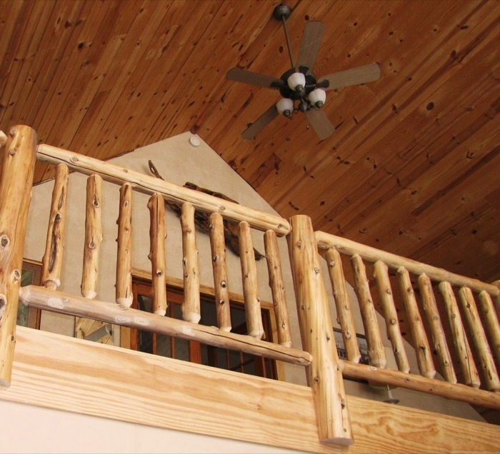 Log And Timber Porches Decks Railings Built To Fit